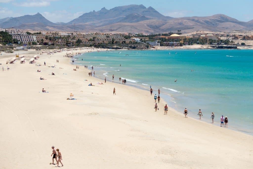 Fuerteventura Ferien am Playa del Castillo