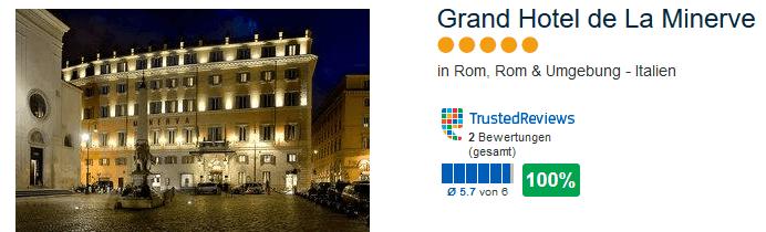 Grand Hotel de La Minerve 5 Sterne - Mit Luxairtours nach Rom
