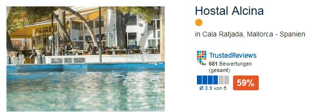 Günstigste Pauschalreise nach Mallorca - Cala Ratjada