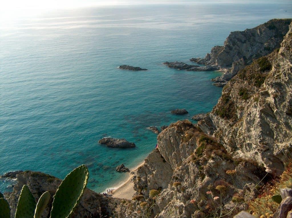 Kalabrien die Provinz im Süden Italiens