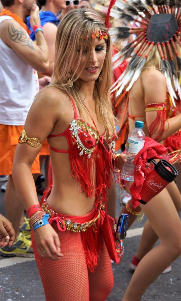 Karneval im Sommer in london - Notting Hill Carnival