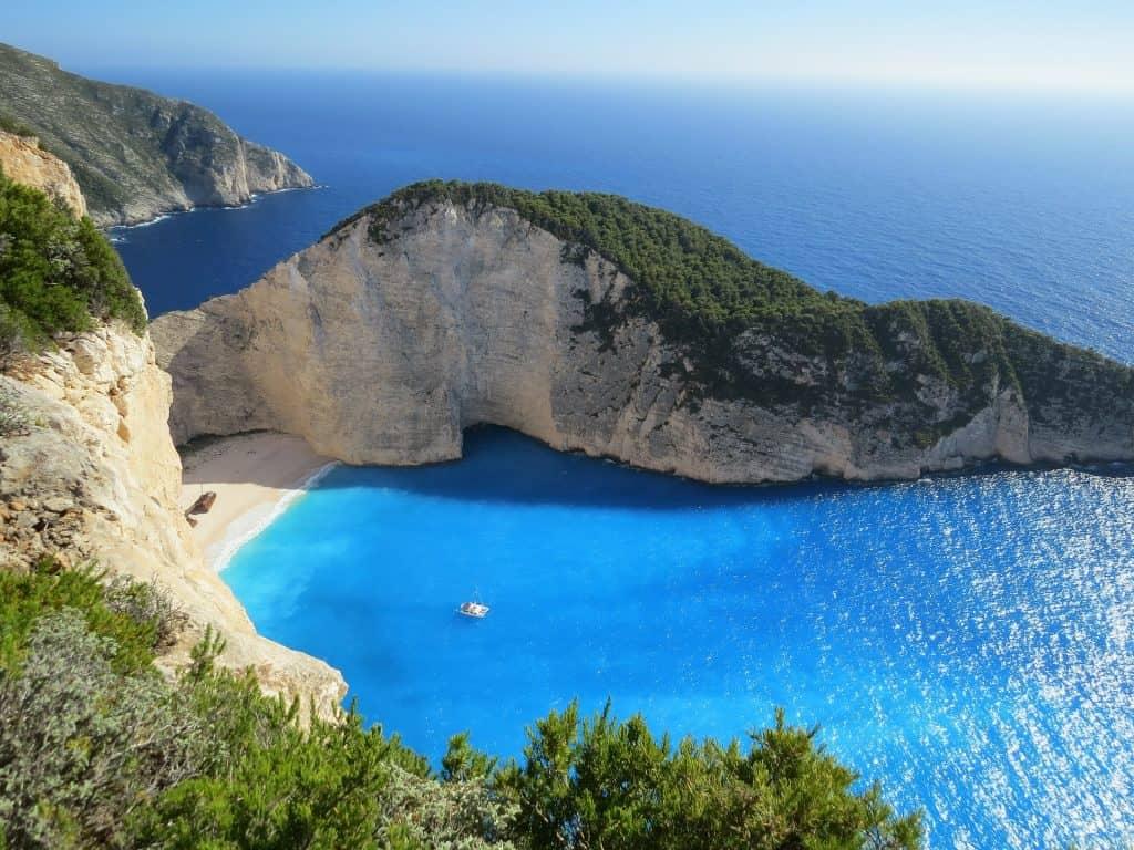 Meiner Meinung nach ist das die schönste Bucht die man in Griechenland hat