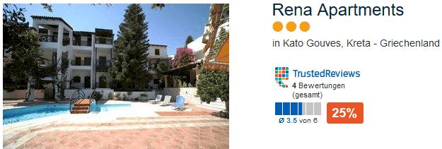 Rena Apartments drei Sterne