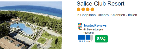 Salice Resort in Italien