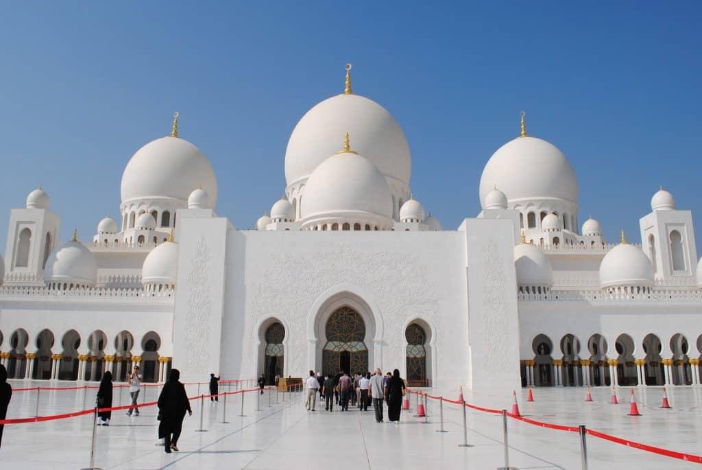 Scheich Zahyid Moschee ein Runtgang kostet keine 17,00€