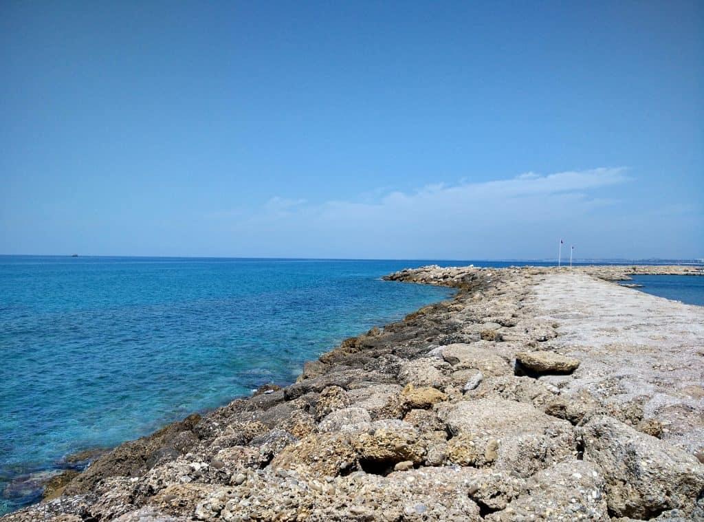 Side der beliebte Touristenort an der türkischen Riviera
