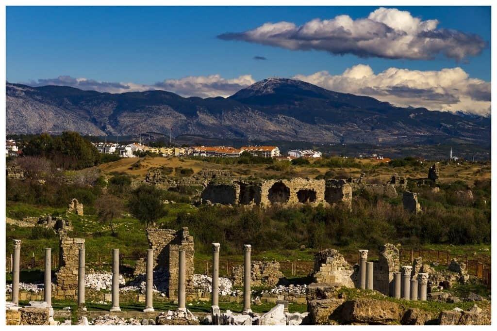 Viele Überreste der Römer findet Ihr noch in der Region