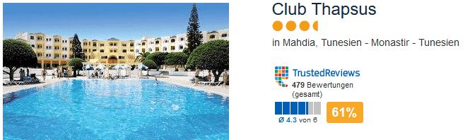 3,5 Sterne Hotel mit All Inklusive Plus beim Reiseveranstalter ETI zum Tiefpreis