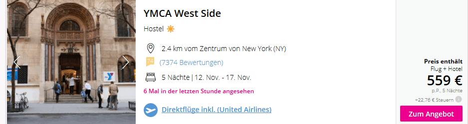 Der reguläre Preis für die Reise liegt bei 1118,00€ für zwei Personen nachdem wir den Gutscheincode eingegeben haben wurde der Preis um 60,00€ reduziert