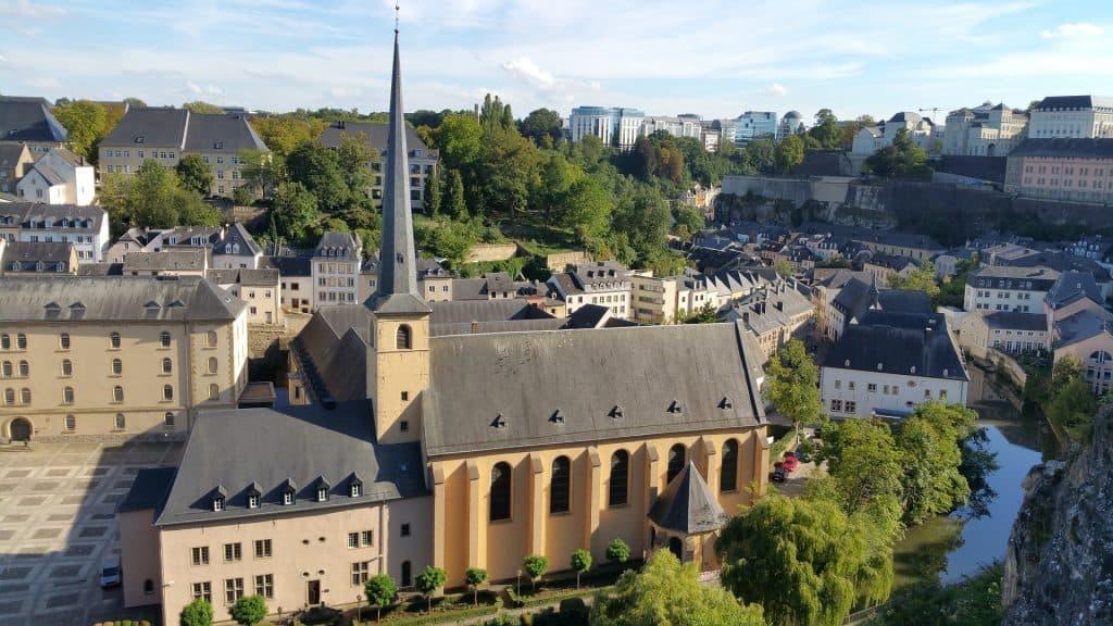 Die Architektur in der Hauptstadt Luxemburgs ist einfach wunderschön