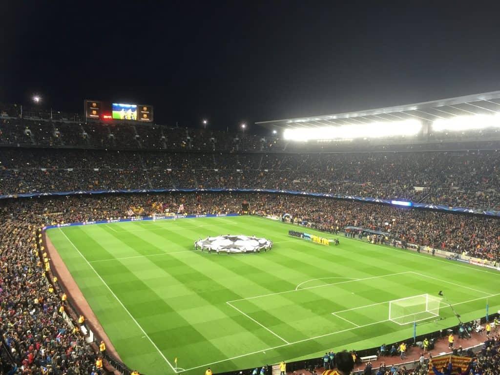 Fußball Barcelona Karten für die UEFA Champions League