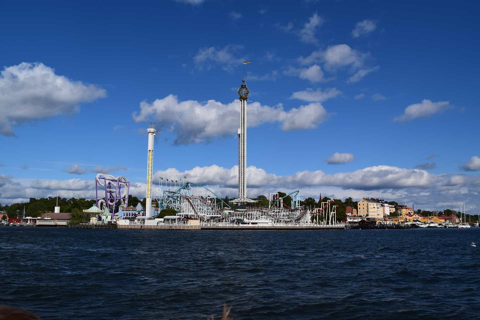 Gröna Lund Freizeitpark Stockholm - Ticket nur 13,88€