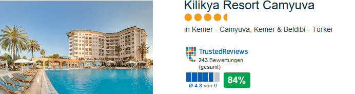 Kilikya Resort Camyuva - 5 Sterne Hotel
