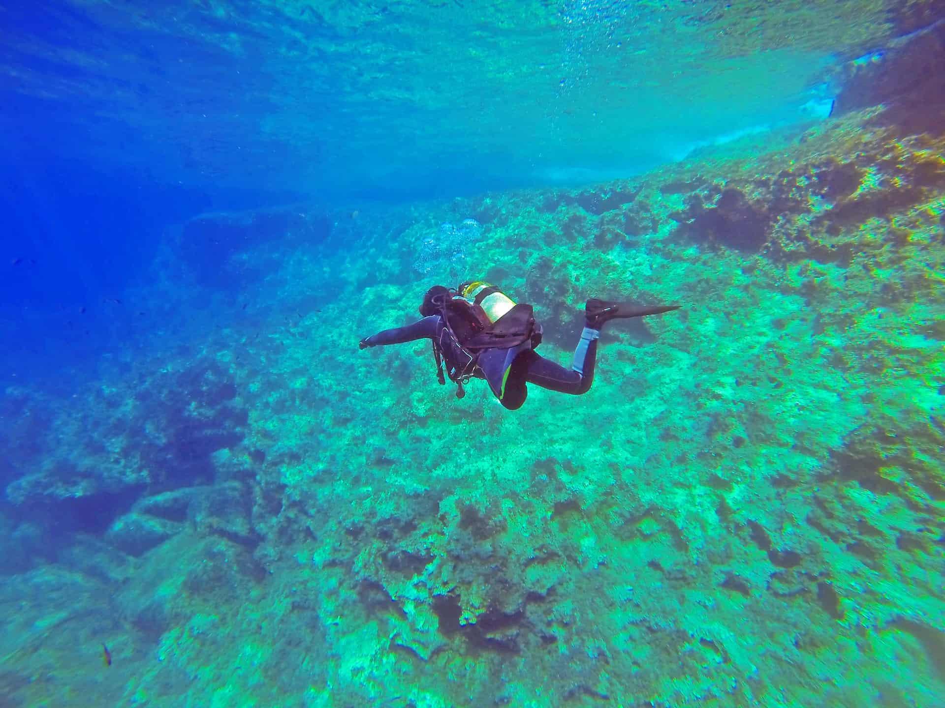 Mindestens einen Tag sollte man sich die unter Wasserwelt im Mittelmeer auf der Insel gönnen