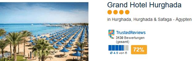 Red Sea Hotels - Grand Hotel 4 Sterne vom Reiseveranstalter ETI