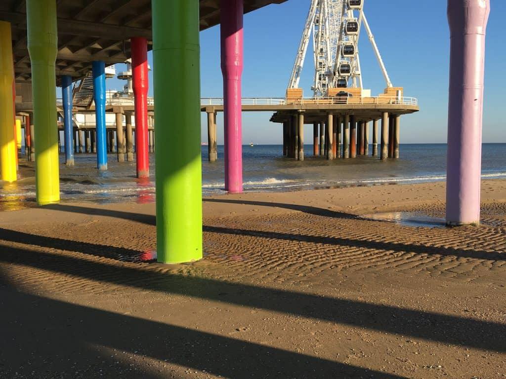 Schevingen ist wohl der beliebteste Strandabschnitt der Niederlanden