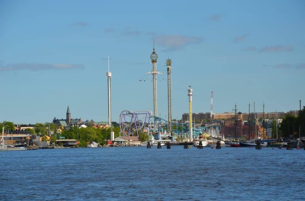 Schwedens ältester Freizeitpark mit 31 verschiedenen Attraktionen