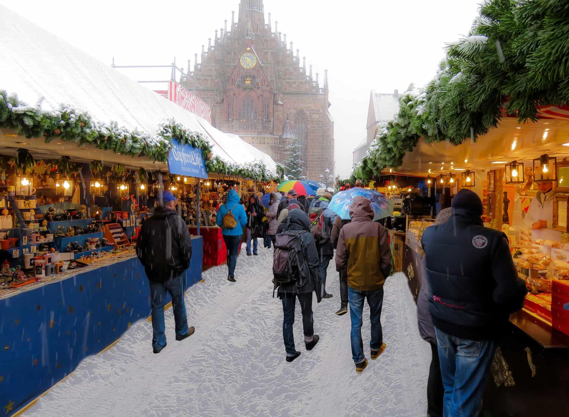Städtereisen in Nürnberg zur Advenszeit auf dem Christkindlesmarkt