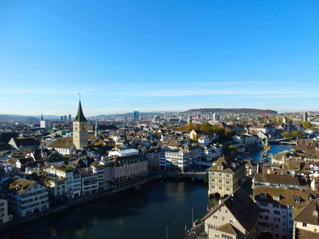 Zürich Städtereisen in der Schweiz