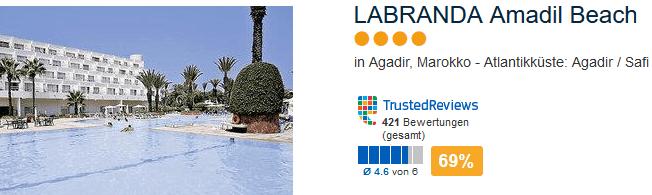 4 Sterne Hotel in Agadir - Pauschalreise zum Tiefpreis