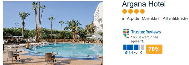 Argana Hotel in Agadir an der Atlantikküste - Marokko Urlaub