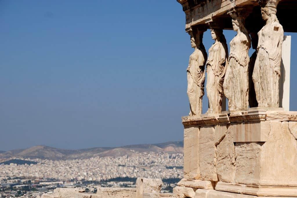 Aussicht über die griechische Metropole