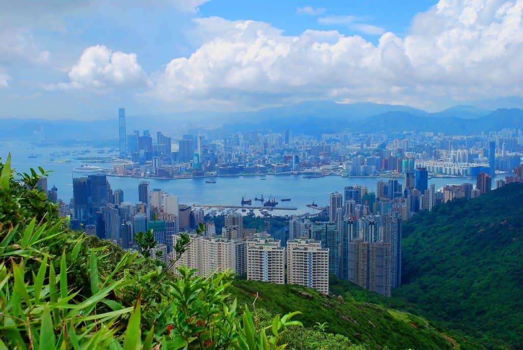 Autonome Region Hong Kong für eine Städtereise hierher braucht man kein Visum