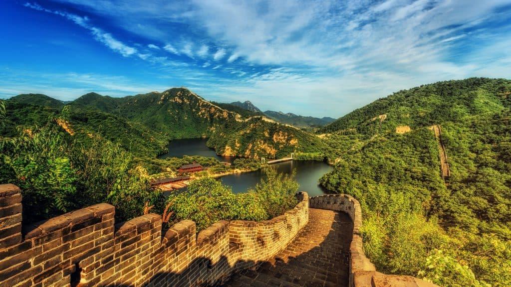 Die Chinesische Mauer - bei wem steht Sie auf der Bucket List