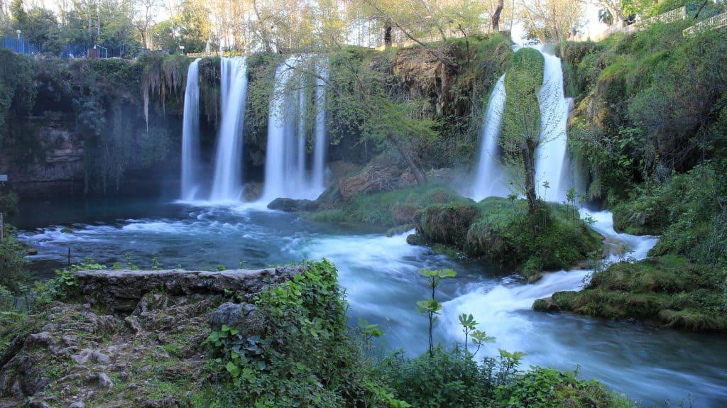 Düden Wasserfall an der türkischen Riviera