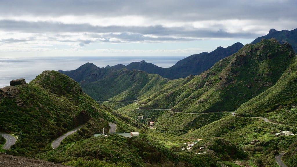 Eine atemberaubende Kulisse bietet die Vulkaninsel