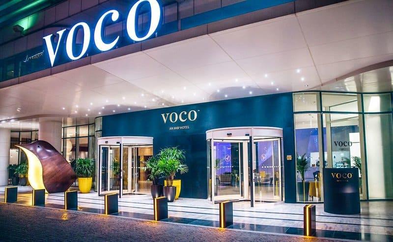 Eingang zum neuen VOCO DUBAI