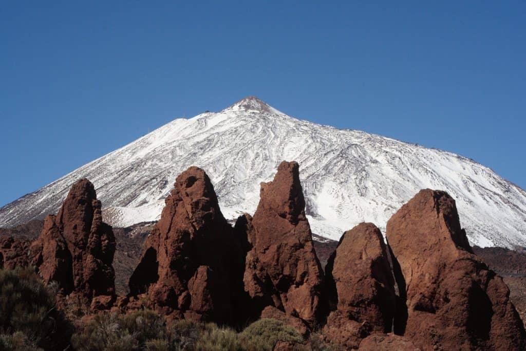 Höchste Gebirge Spaniens befindet sich auf Teneriffa