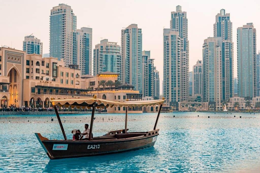 Kreuzfahrten um den Orient zu entdecken - Dubais Altstadt