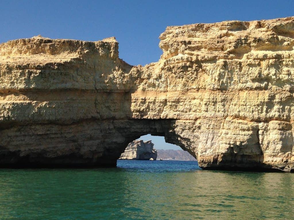 Kurz vor der Hauptstadt Muscat im Oman