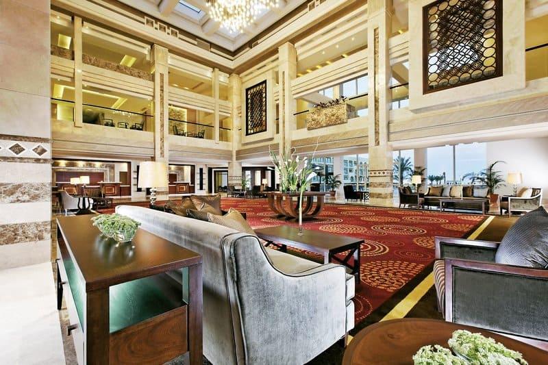 Lobby vom 5 Sterne Hotel in Hurghada