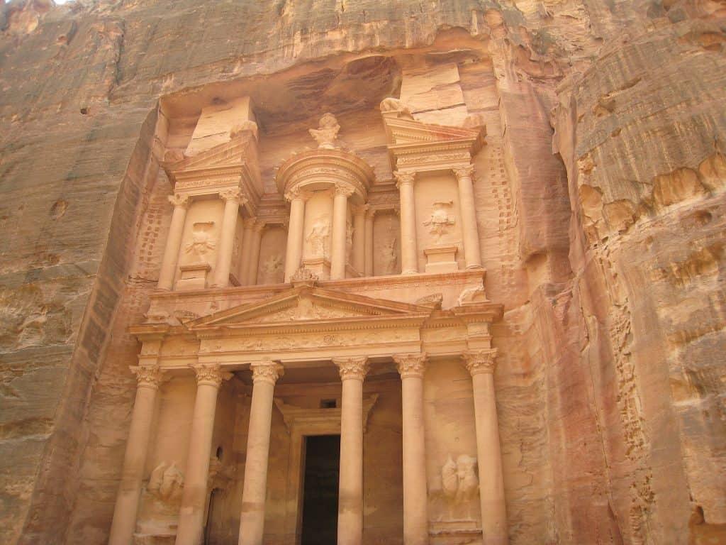 Petra die historische Stadt