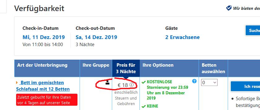 Screenshot Deal Weihnachtsmarkt Budapest - Städtereisen nur 32,23€ Flug & Hotel