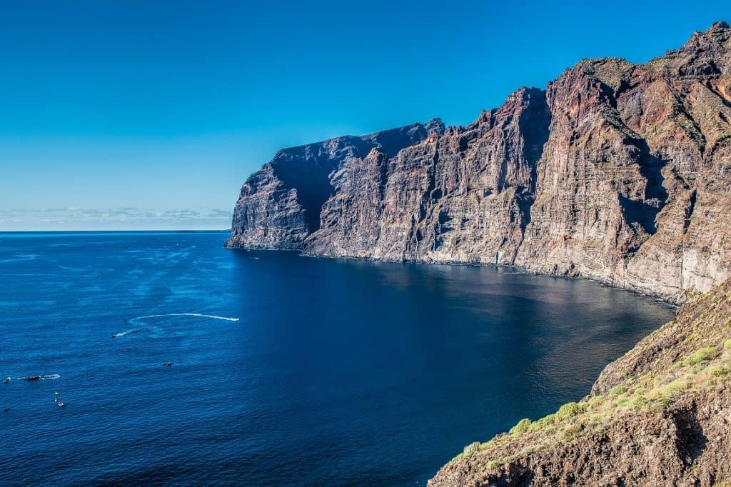Steilküste Los Gigantes im Süden der kanarischen Insel