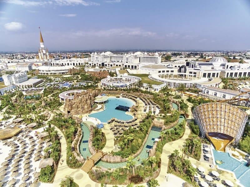 639.000m² ist die Hotelanlage groß