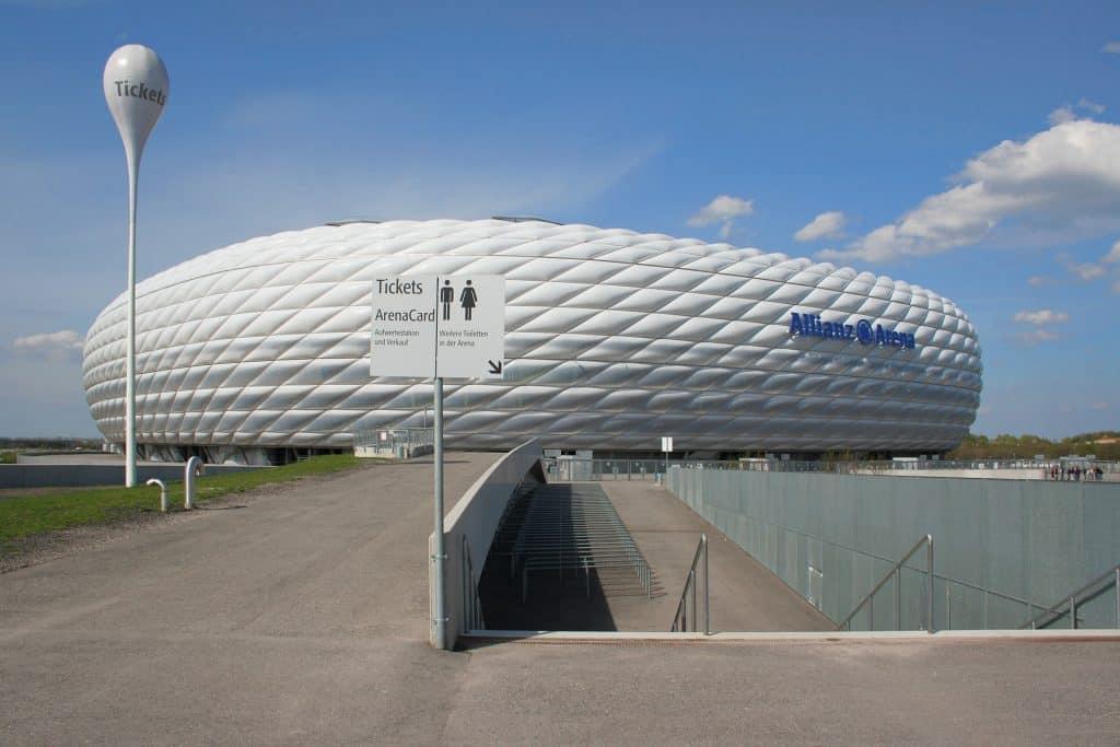 Allianz Arena München - Gruppenphase der Mannschaft werden hier ausgetragen