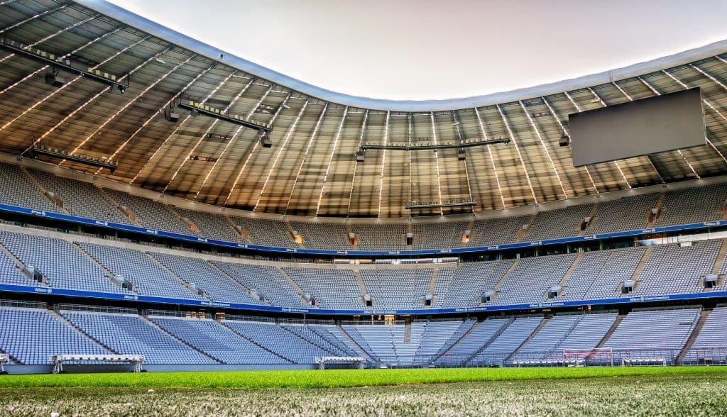Allianz Arena hier finden die Gruppen Spiele von Deutschland statt
