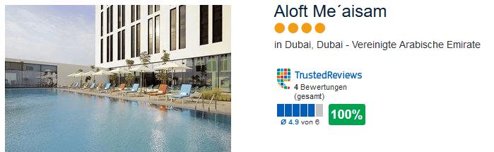 Aloft Me aisam 4 Sterne Hotel