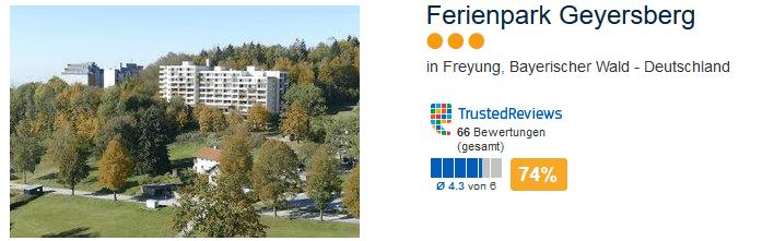 Bayerischer Wald Unterkunft in Freyung nicht nur zum Skiurlaub - Ferienpark Geyersberg