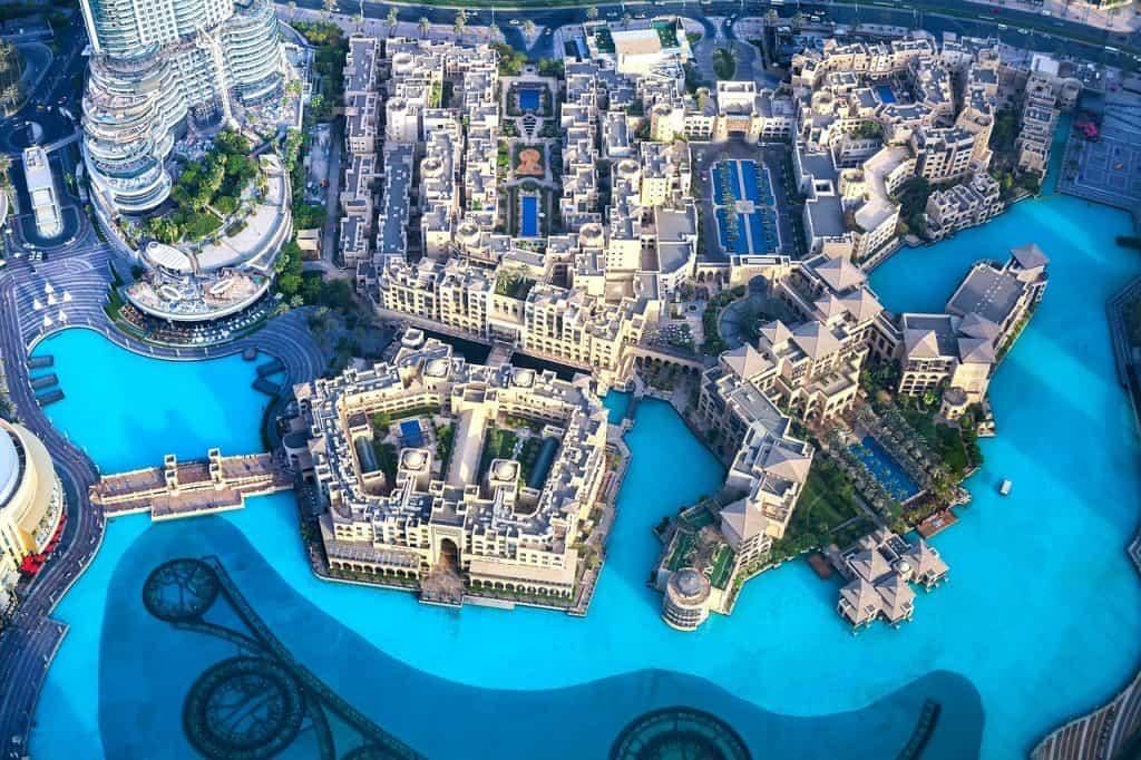 Blick auf den Dubai-Creek