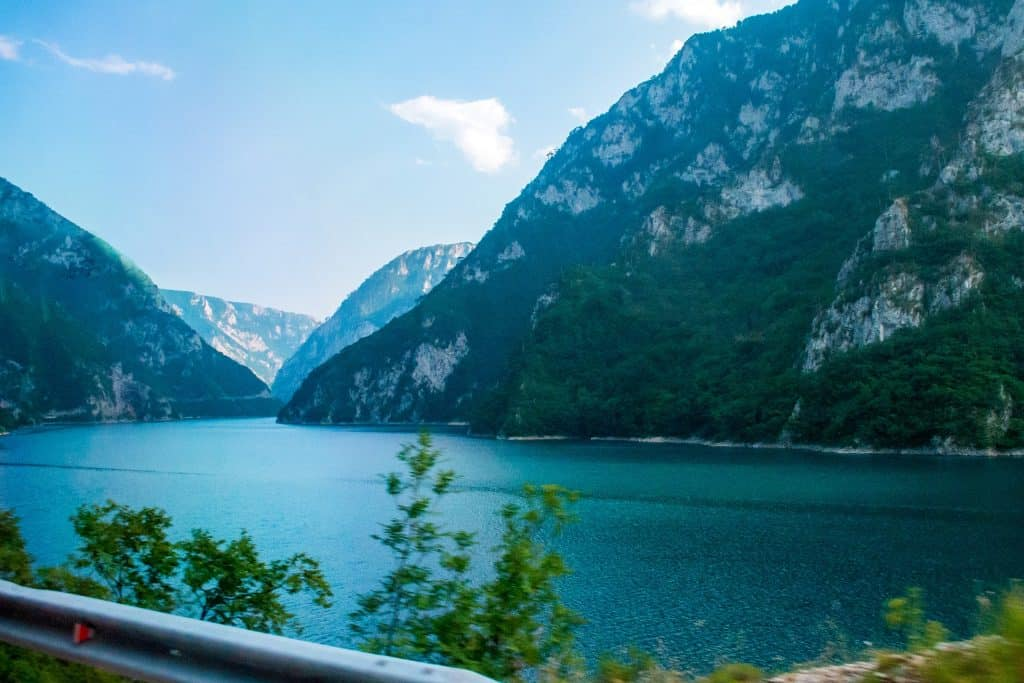 Das Landesinnere Montenegros