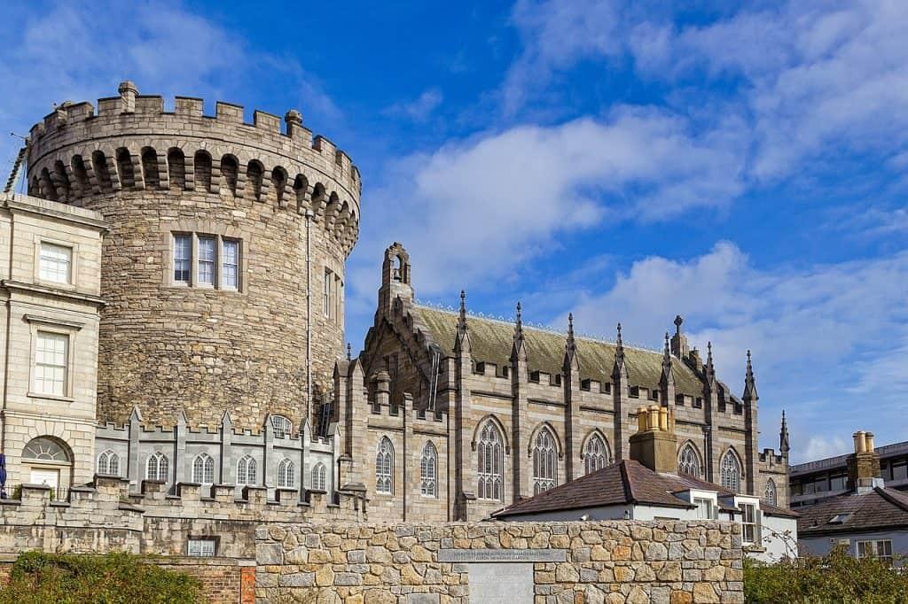 Das berühmte Dublin Castle aus dem Jahr 1171