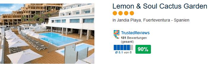 Ehemaliges LABRANDA - Lemon & Soul Cactus Garden 4 Sterne Hotel am Jandia Playa