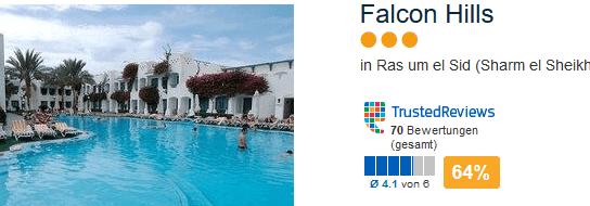 Falcon Hills in Ras um el Sid das drei Sterne Hotel mit zumutbarem Strandurlaub
