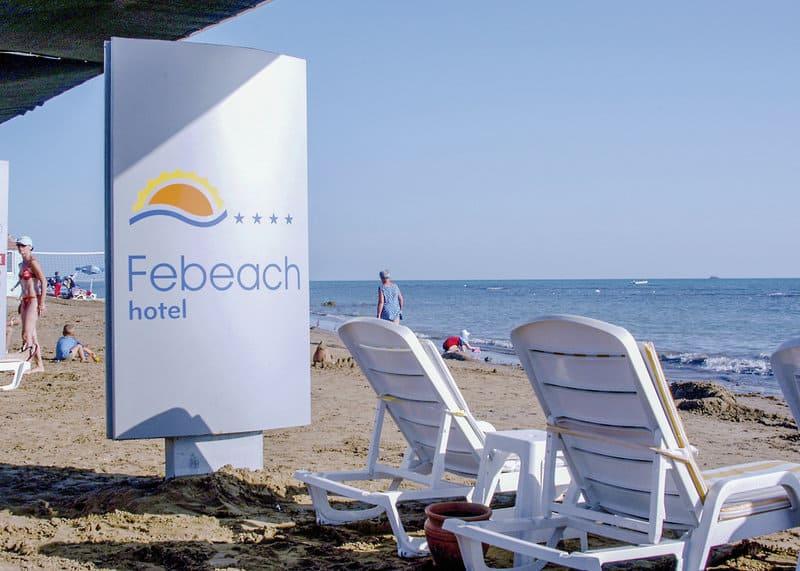 Hoteleigener privater Strandabschnitt