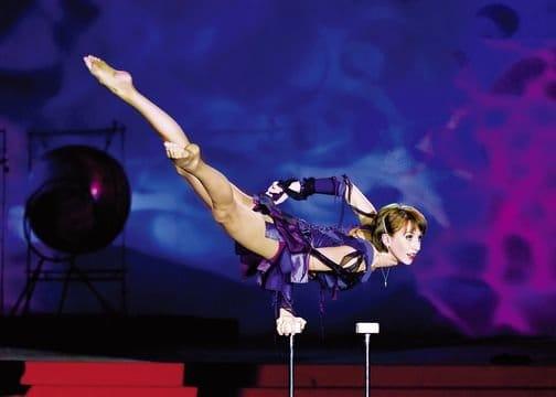 Im Zirkus Hotel findet man überwiegend Akrobaten und Magier